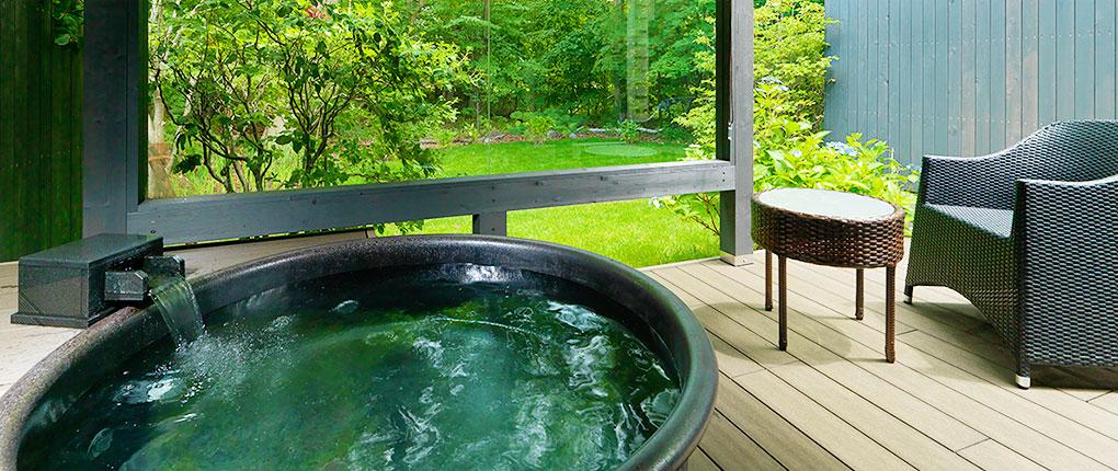 露天風呂付 ツインルーム イメージ